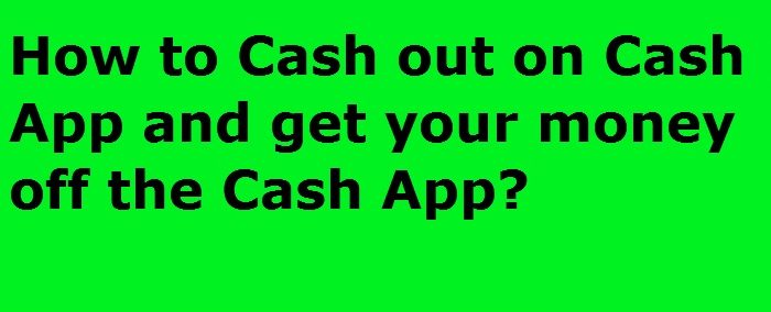get money off Cash app without card