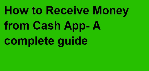 receive money from Cash App